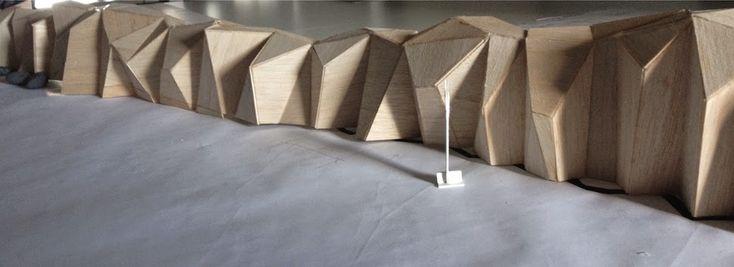 livin' spaces: STEEL ROCKS: Sculptural Seawall by Paul Sangha Landscape Architecture