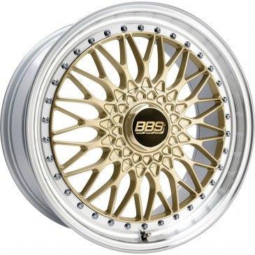 BBS Super RS Felgen gold/Felge diagedr. in 19 Zoll - Felgenshop.de