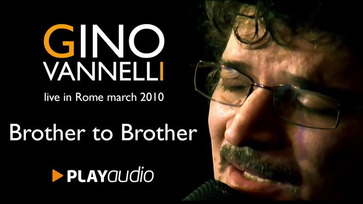Gino Vannelli (RARE VIDEO) - Brother To Brother - Live @The Place - Rome...