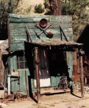 Silver City - California Ghost Town