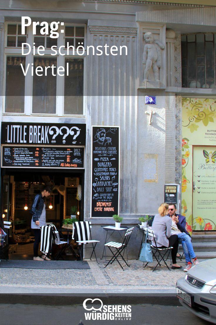 Sehenswerte Viertel in Prag: Neben den vier Prager…