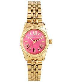 Michael Kors Mini Lexington Pink ρολόι γυναικείο