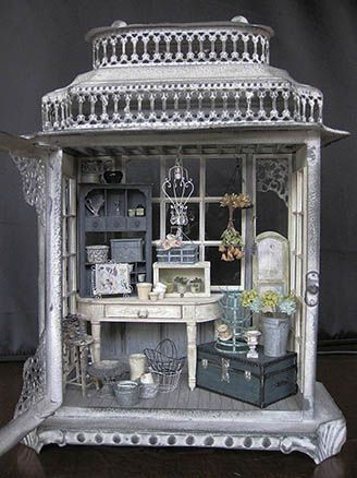 Amazing! Just given me an idea of what beautiful miniatures you could create in a jewellery box!