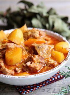 Sauté de veau aux carottes et pommes de terre
