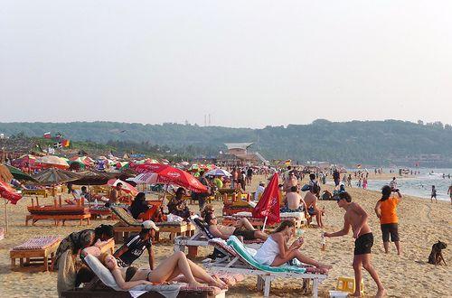 Candolim Beach Near Strand Park Goa #goa #travel #beach