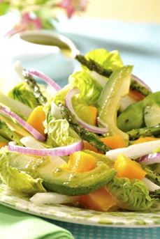 Asparagus Salad With Mango Dressing Must Be Translated