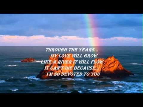 Devoted to You - The Everly Brothers (with lyrics)