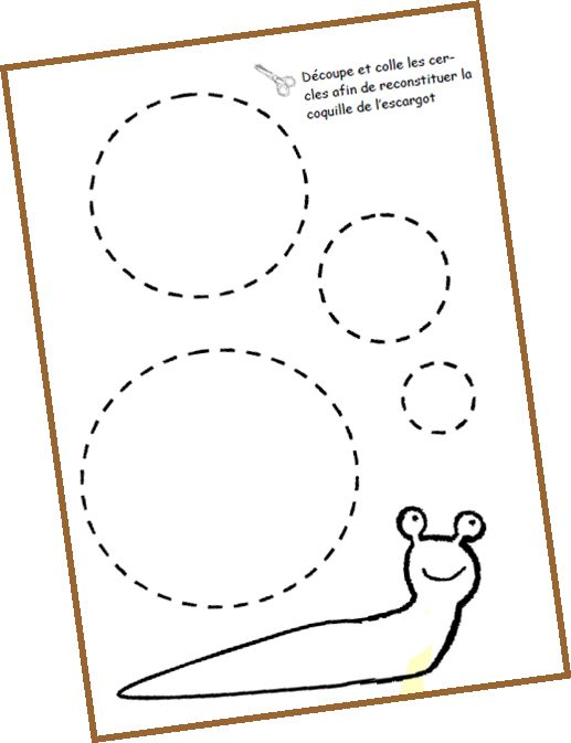 40 best projet escargot maternelle images on pinterest snails animals and montessori. Black Bedroom Furniture Sets. Home Design Ideas