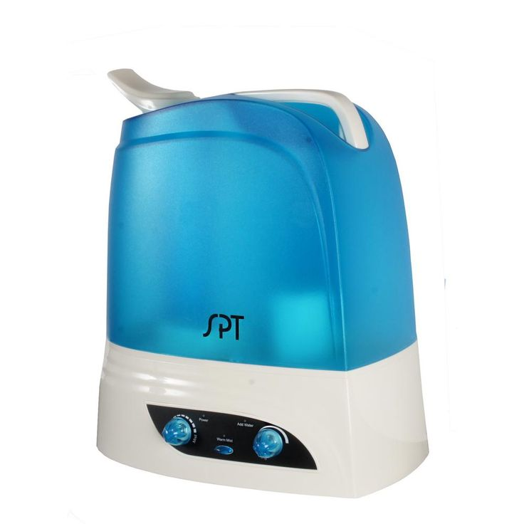 7L Dual Mist Humidifier with ION Exchange Filter, Blues