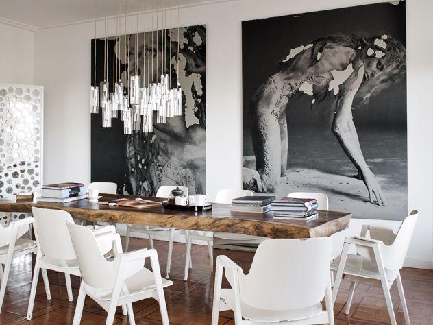 #decoracion #muebles #descuentos #casa #estilo #blanco #negro #fotografia #cuadro #salon #moderno #lujo #arquitectura #mesa #sillas