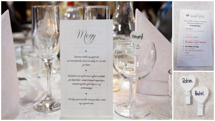 Bryllupsdagen: Lokalet, Pynten og Tips. . (Rachel)