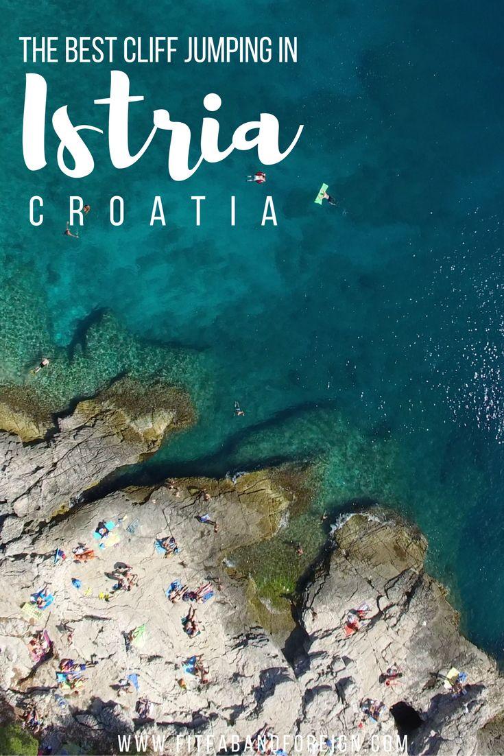 The Best Cliff Jumping in Pula, Croatia | Beach, Interrail ...