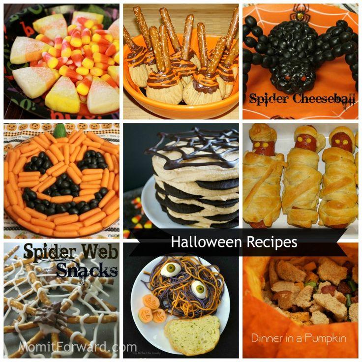 Halloween Recipes #treats #snacks #ideas