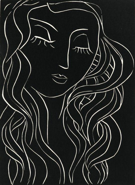 Henri Matisse Pasiphaë 1944 via Intercepted by Gravitation