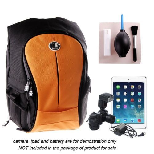 Camera dslr slr& #laptop backpack rucksack bag case for #canon bag,orange #color,,  View more on the LINK: 	http://www.zeppy.io/product/gb/2/401128880130/
