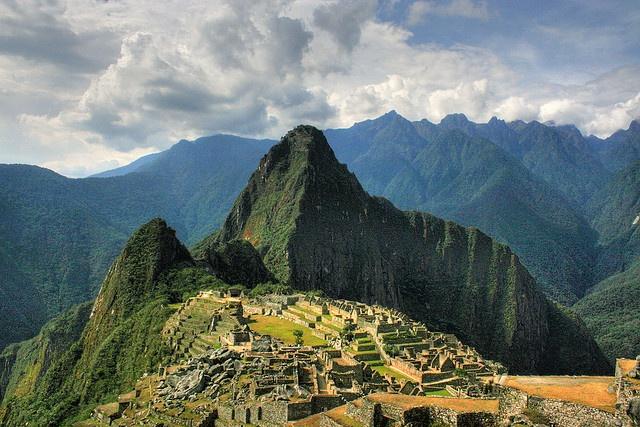 Machu Picchu, 2008, Peru, HDR, Fab et 2010 Alex
