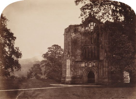 Roger Fenton - Bolton Abbey, West Window, 1854
