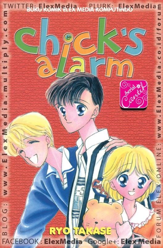 Mulai hari ini Miku yang duduk di kelas dua SMP, punya kehidupan baru. Duduk di sebelah cowok pujaan hatinya, Takuya!     Pokoknya, buat Miku hari-harinya terasa begitu special, sampai suatu hari Takuya mengajaknya bicara dan memintanya menjadi pacar Kiyokazu, sahabat Takuya. Uwaaa! Inikah yang dinamakan malapetaka kehidupan SMP?    SC: CHICKS ALARM (STO Ulang) ; Harga: Rp. 17.500 Terbit: 26-Sep-12