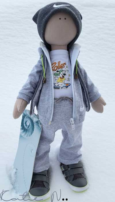 Andrew custom doll por KatieNcustomdolls en Etsy