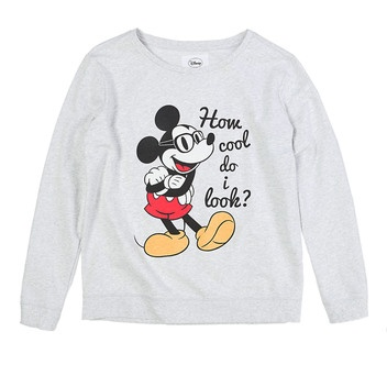 Mickey cotton weatshirt