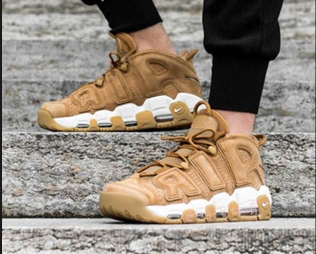 Nike air uptempo wheat new colourway  Contact me: Email:repsneakeryeezy@gmail.com Whatsapp:+8618087436133  Kik:repsneaker  Wechat:18087436133  Imeassage:+8618087436133  skype:rep sneaker