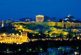 画像:10月 アテネのアクロポリス(ギリシャ) 文化遺産の旅(ユネスコ世界遺産) 2017年版カレンダー