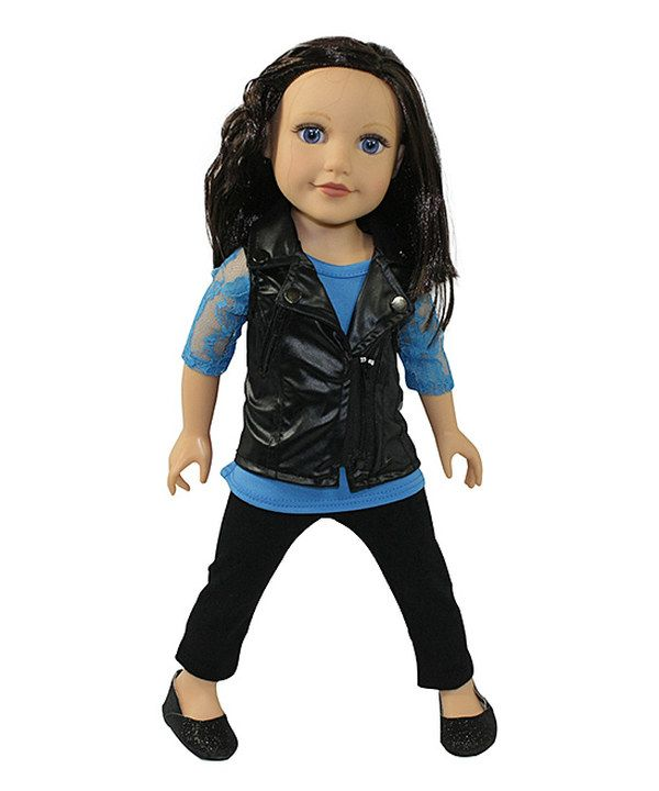 Look at this Black Vest Outfit for 18'' Doll on #zulily today!