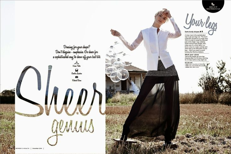 Womens Health Magazine Design - Nick Thackray | MagSpreads | Magazine Layout Inspiration and Editorial Design