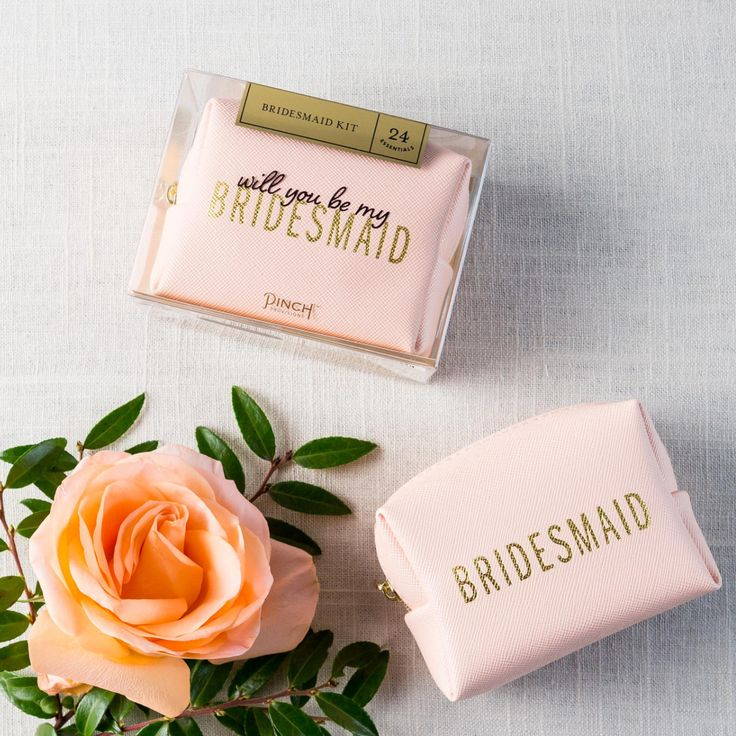 Will You Be My Bridesmaid? Mini Emergency Kit