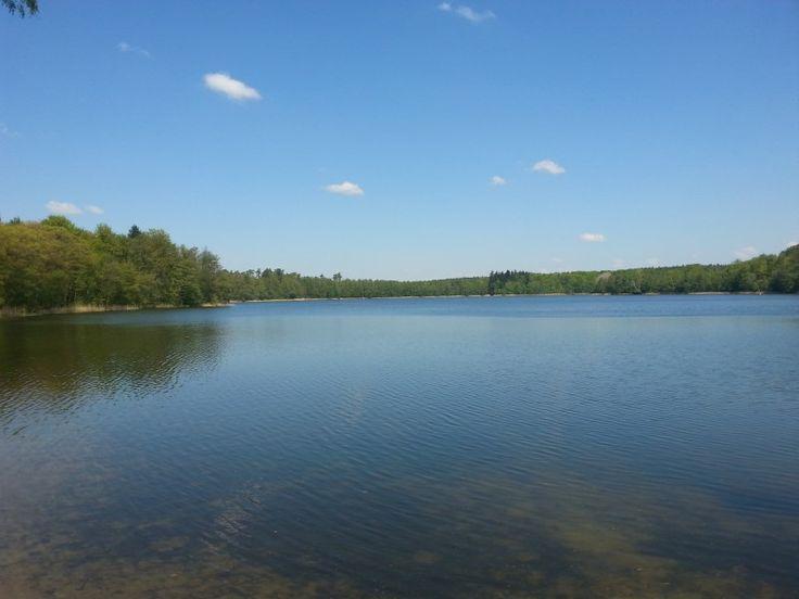 Jezioro Grabino koło Kłodawy