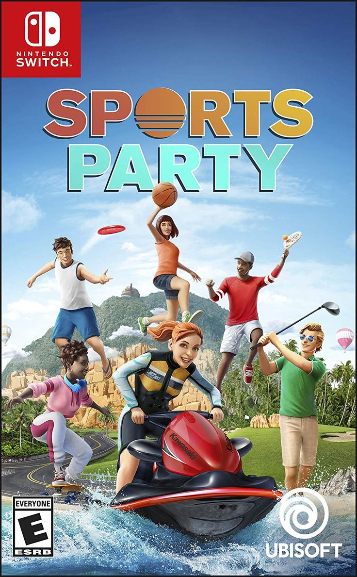 Sports Party Nintendo Switch Standard Edition Ubisoft