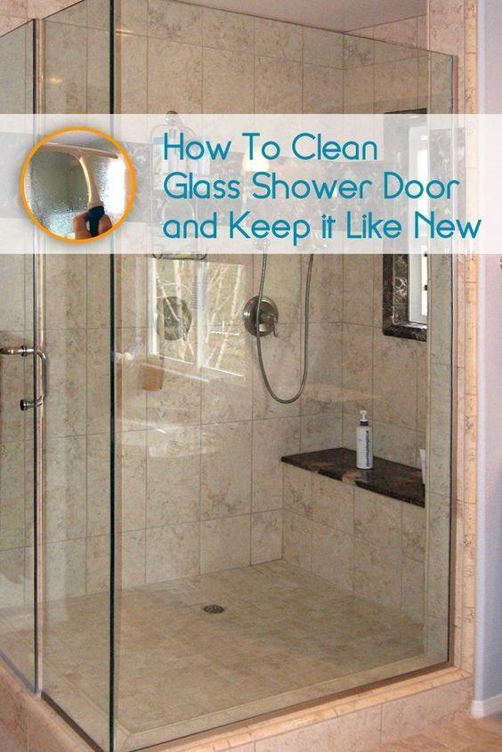 How To Clean The Shower Gl Door