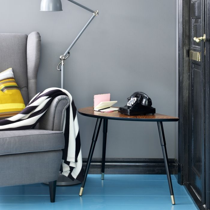 A LÖVBACKEN side table is a stylish addition to the living room
