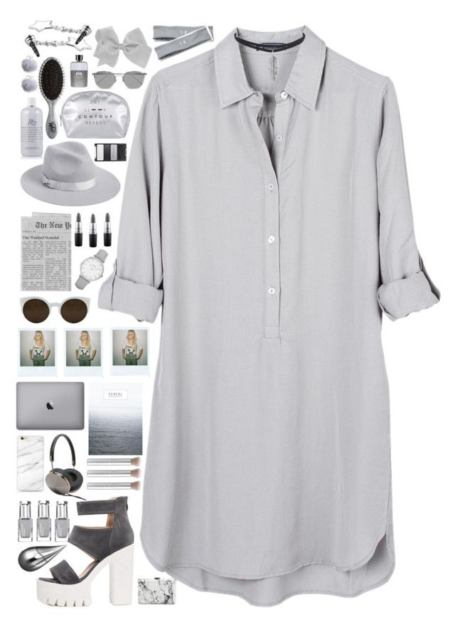 """""""The rule of freedom"""" by timeless0trends ❤ liked on Polyvore featuring United by Blue, RetroSuperFuture, Balenciaga, Lack of Color, Topshop, MAC Cosmetics, Frends, La Prairie, Gucci and The Wet Brush"""
