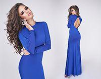 Вечернее платье Madlen синее электрик