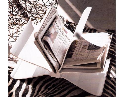 ingenius newspaper & magazine rack