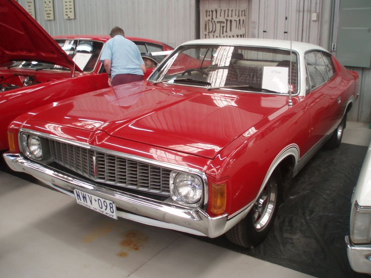 1974 Chrysler VJ Valiant Charger Sportsman (Australian).