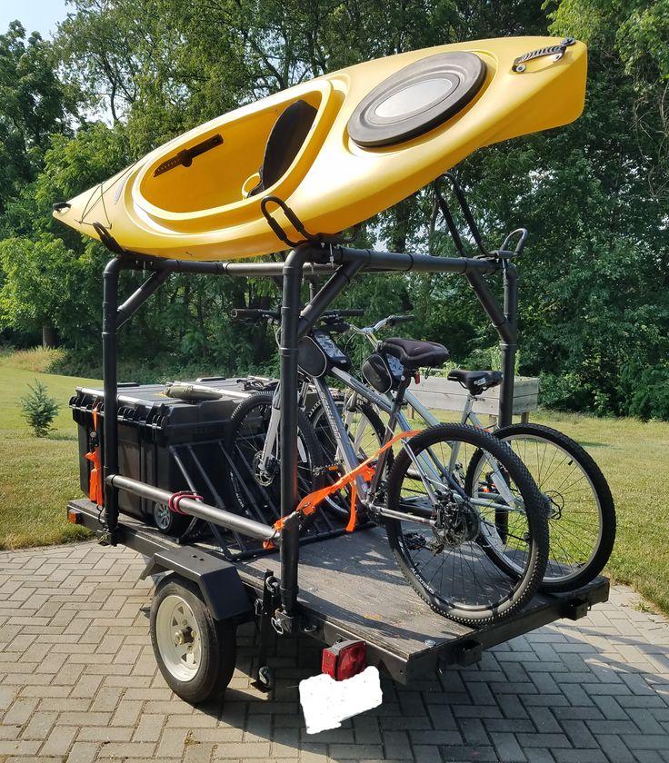 Harbor Freight Trailer MOD - Kayak, Camping and Bike Trailer