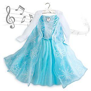 disney dguisement musical elsa de la reine des neiges pour enfants disney stored guisement