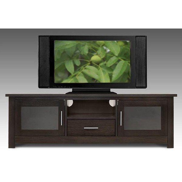 elite industries el 746 65 wide tv stand credenza wenge finish the simple stores. Black Bedroom Furniture Sets. Home Design Ideas