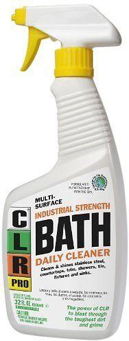 CLR PB-BATH-32PRO Multi Purpose Daily Bath Cleaner 32 Oz Trigger Spray: Industrial & Scientific