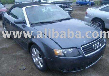 """""""Salvaged 2003 Audi A-4 3.0 Convertible $8,500 car"""""""
