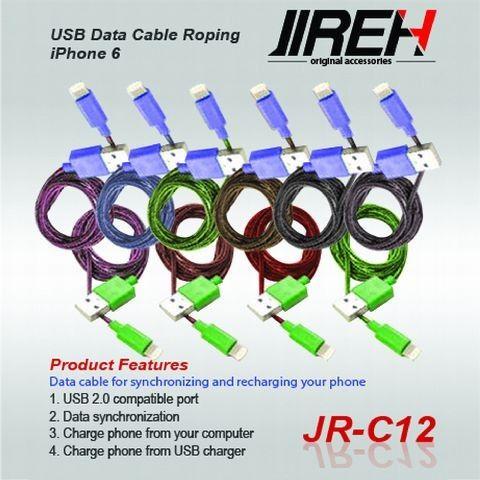 Kabel Data Jireh JR-C07 Iphone 4