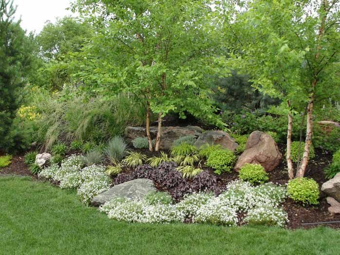183 best island and berm gardens images on pinterest for Landscape berm design