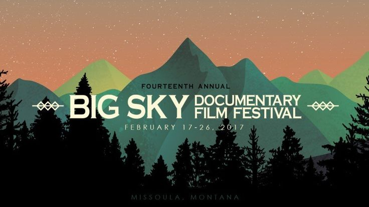 The Big Sky Documentary Film Festival will be a first for me. I'm looking forward to attending. #bigskydocfest AD