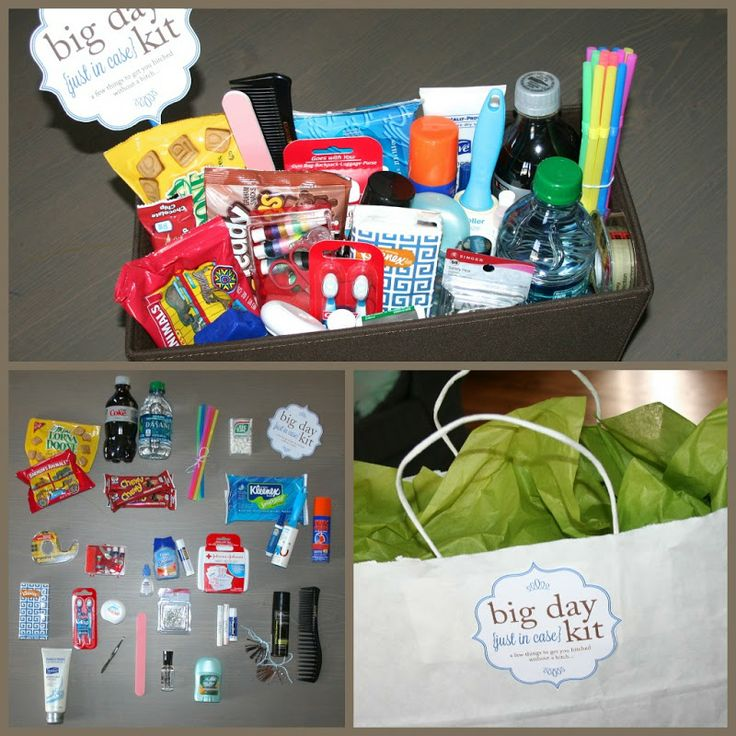 Pass the Cereal: Big Day Kit - Wedding Survival Kit