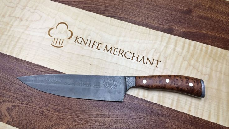 """Wusthof """"True Damascus"""" Limited Edition Knife. http://www"""