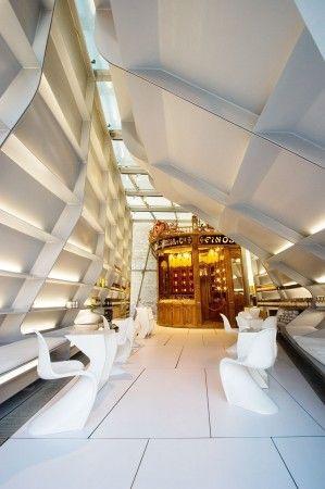 Tondonia Winery Pavilion / Zaha Hadid (Rioja, Spain) #wine #architecture