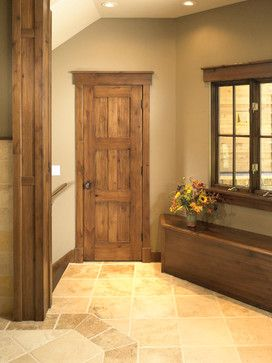 Rustic Craftsman traditional interior doors