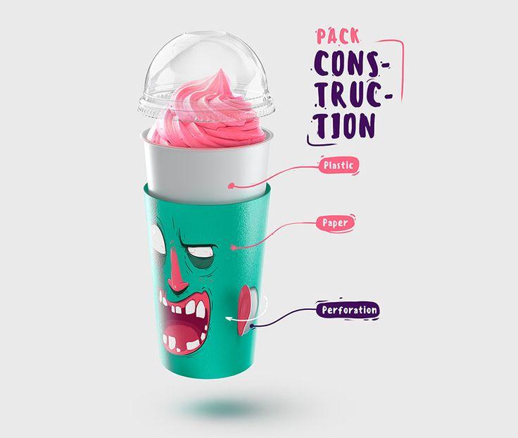 Des1gn ON | Design de Embalagem - Shake my head 03